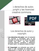 Los Derechos de Autor, Copyright y Las