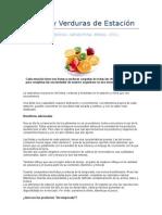 Calendario Frutas y Verduras Sudamerica