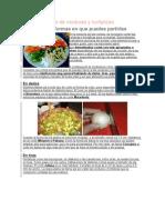 Tipos de Cortes de Verduras y Hortalizas