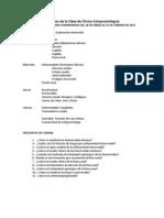 Resumen de la Clase de Clínica Coloproctológica