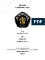 SEJARAH PERKEMBANGAN dan ARSITEKTUR SISTEM OPERASI WINDOWS