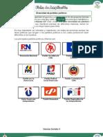 Diversidad de partidos políticos