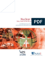 NuclearForensics Role Stateoftheart Programneeds