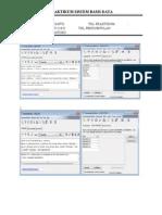 Laporan Sistem Basis Data - BAB 6_EDI SISWANTO_115090607111035