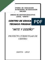 E - 1 ProyectoCurricularCentro_2012
