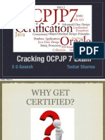 Oracle Certified Professional Java Programmer (OCPJP 7) book