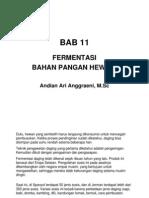 Slide BAB 11 Mikrobiologi Pangan