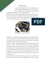 Plan de Mantenimiento a Un Motor de Gasolina
