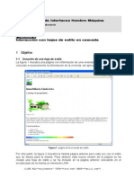 Práctica 2 - Interacción con hojas de estilo en cascada