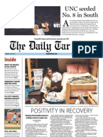 The Daily Tar Heel for March 18, 2013