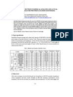 Comparison Between Numerical Analyses and Actual Test in Field for Prestress Anchors (Monobars)