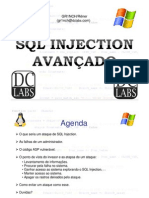 sql injection avançado