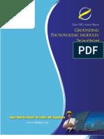 PV Module Grounding Report