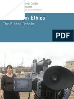 Journalism Ethics_Global Debate