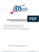 NIH Aids Info HIV Treatment Guidelines Adultandadolescentgl