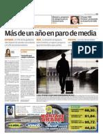 Más de un año en paro de media en Cádiz