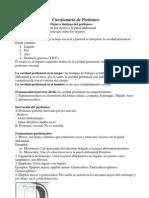 Cuestionario de Peritoneo, Estomago, Pared Abdominal, Genital - Febrero 2013 (1)