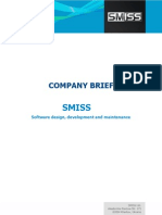 Company Brief - SMISS software outsourcing company