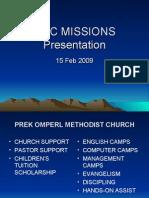 AMC Missions Presentation