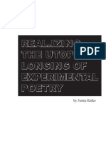 88236660 Real Izing the Utopian Longing of Experimental Poetry
