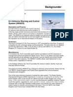 E 3AWACS Overview
