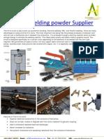 Thermite Welding Powder Supplier