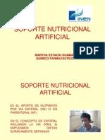 Soporte Nutricional Artificial