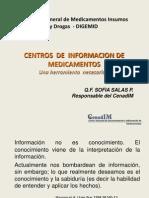 Centros de Informacion de Medicamentos