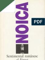 Constantin Noica-Sentimentul Romanesc Al Fiintei-Humanitas (1996)