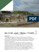 Mar. 5,1-20 – preek –  17-3-2013 - Een bevrijdend gezicht