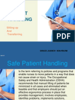 Safe Patient Handling_Sitting Up and Transferring