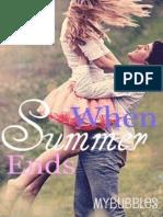When Summer Ends Wormald Katy
