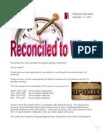 Newsletter September 08