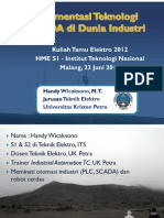 2012 06 22 Implementasi Teknologi Scada Di Dunia Industri