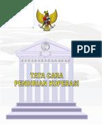 339Buku Tata Cara Pendirian Koperasi