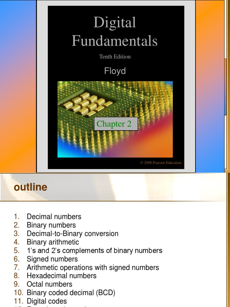 2 Number Systems Operations And Codes Binary Coded Decimal Bcd To Converter Data Subtraction