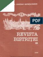 Revista Bistritei IX 1995