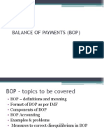 1.Balance of Payments