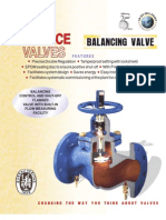 Advance Valve - Profile
