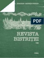Revista Bistritei VIII 1994