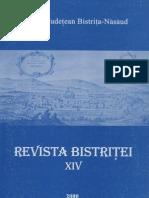 Revista Bistritei XIV 2000