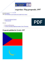 Bosnia and Herzegovina_ Flag Proposals, 1997