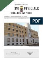 Bollettino Ufficiale Regione Puglia