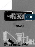 Hot Mix Asphalt Material Mixture Design and Construction(Edn