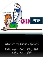 Group 2 Cations