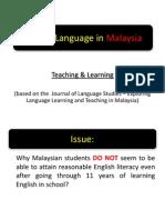 English Language in Malaysia