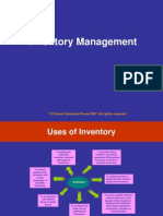 Chapter 7 Inventory Management