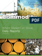 Daily Commodity Report Jun 1st