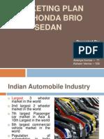 Final Project - Honda Brio Sedan