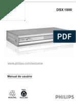 Receptor Philips Dsx-1000 Manual de Uso